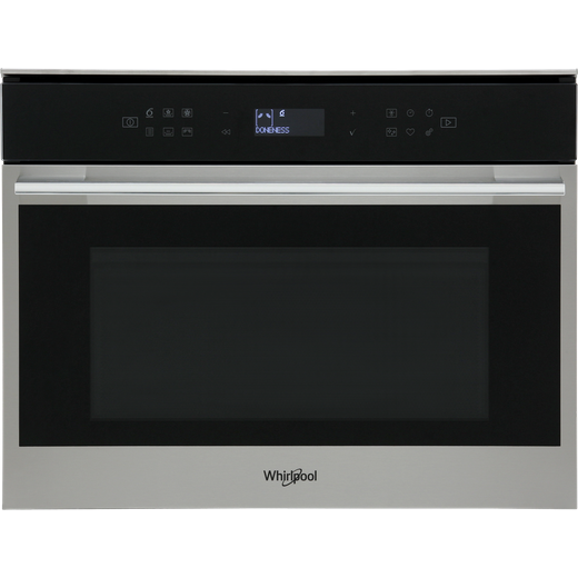 Whirlpool W Collection W7MW461UK Built In Combination Microwave Oven - Stainless Steel
