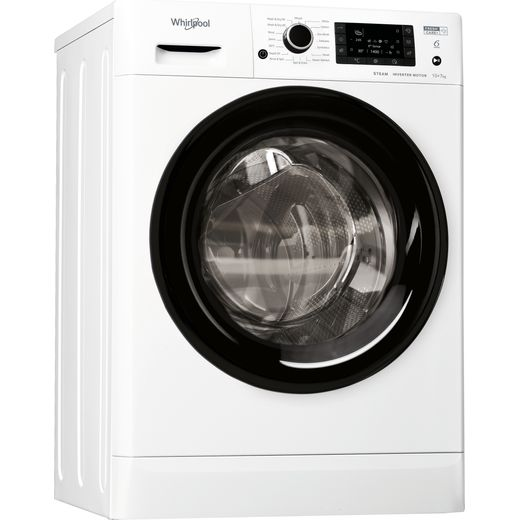 Whirlpool FWDD1071682WBVUKN 10Kg / 7Kg Washer Dryer with 1600 rpm - White - E Rated