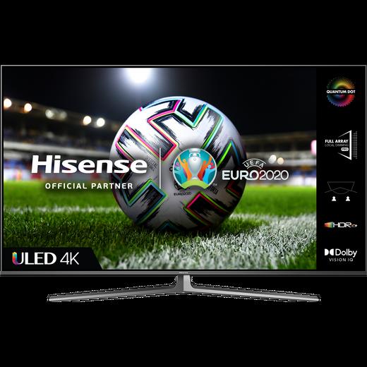 """Hisense QLED 55U8GQTUK 55"""" Smart 4K Ultra HD TV"""