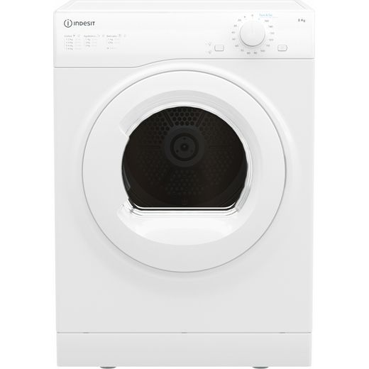 Indesit I1D80WUK 8Kg Vented Tumble Dryer - White - C Rated