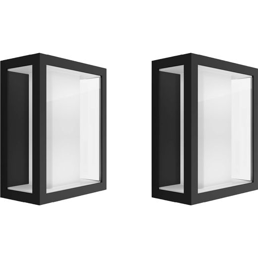 Philips Hue Impress Wide Wall Light Twin Pack - A+ Rated