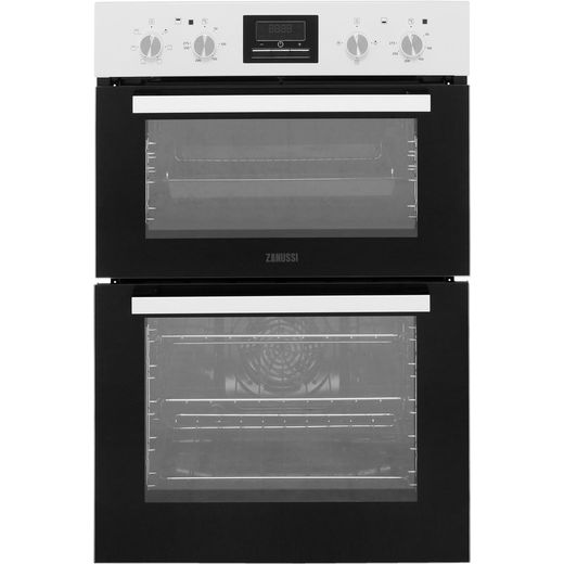 Zanussi ZOD35661WK Built In Electric Double Oven - White