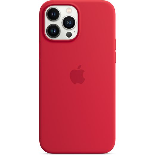 Apple Silicone Case for iPhone 13 Pro Max - (PRODUCT) RED