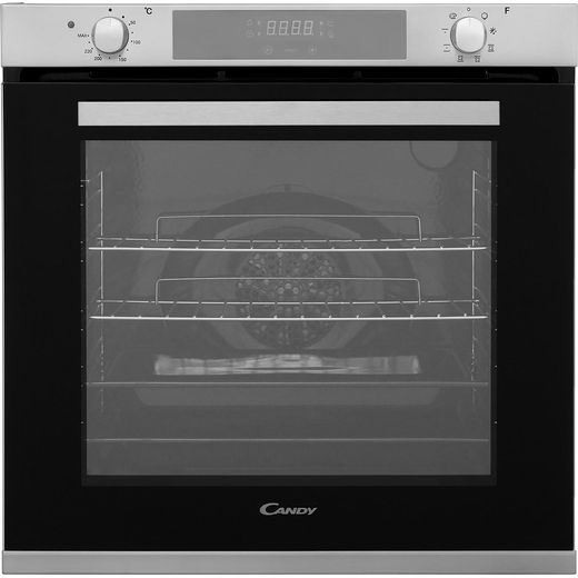 Candy FCXP615X Built In Electric Single Oven - Stainless Steel