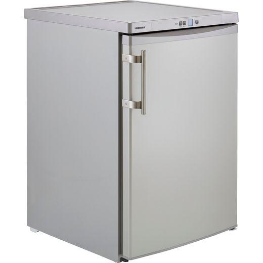 Liebherr GSL1223 Under Counter Freezer - Silver - F Rated