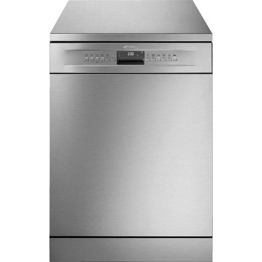 Smeg DF344BX Standard Dishwasher - Silver - B Rated