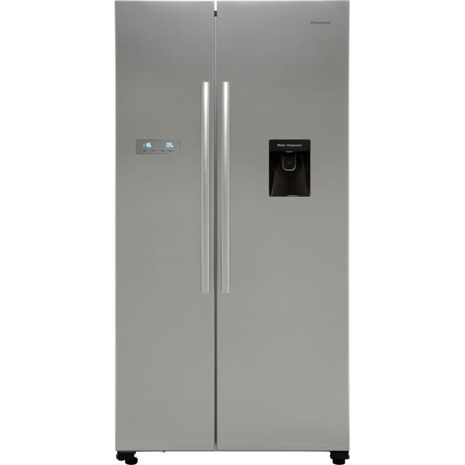 Hisense RS741N4WC11 American Fridge Freezer - Stainless Steel Effect - F Rated
