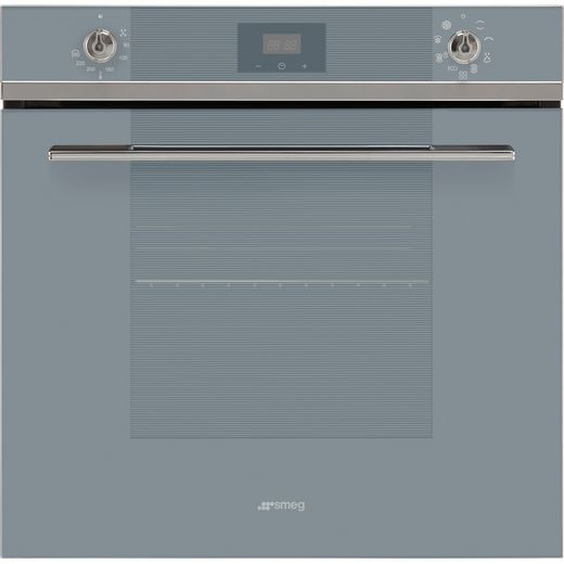 Smeg Linea SF6100TVS1 Built In Electric Single Oven - Silver - A Rated