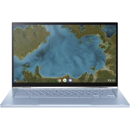 "Asus Flip C433TA 14"" Chromebook Laptop - Silver"