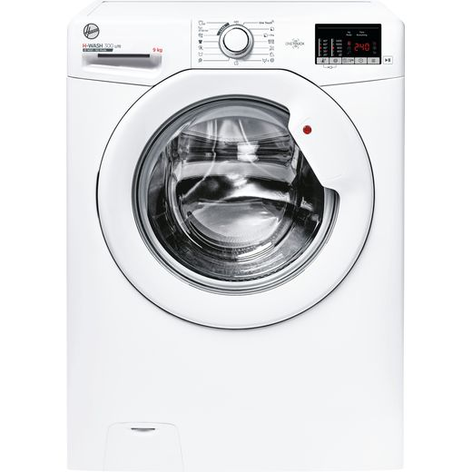 Hoover H-WASH 300 H3W492DE/1 9Kg Washing Machine with 1400 rpm - White - D Rated