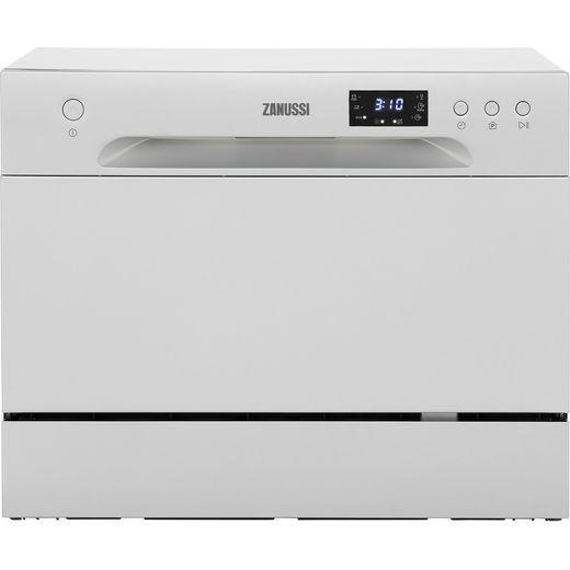 Zanussi ZDM17301SA Table Top Dishwasher - Silver - F Rated