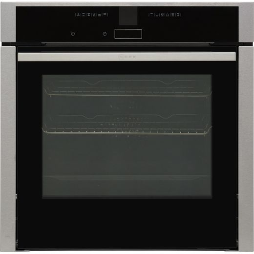 NEFF N70 Slide&Hide® B47CR32N0B Built In Electric Single Oven - Stainless Steel - A+ Rated