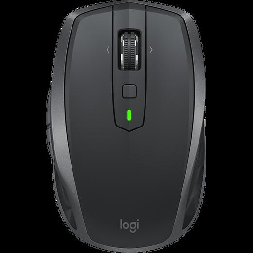 Logitech MX Anywhere 2 Bluetooth / Wireless USB Laser Mouse - Graphite