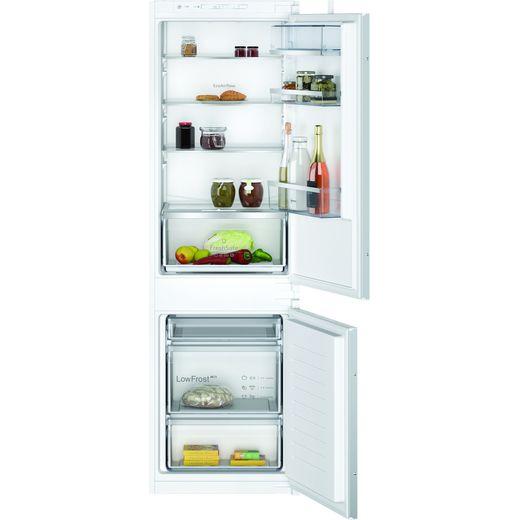 NEFF N50 KI5862SE0G Integrated 70/30 Fridge Freezer with Sliding Door Fixing Kit - White - E Rated