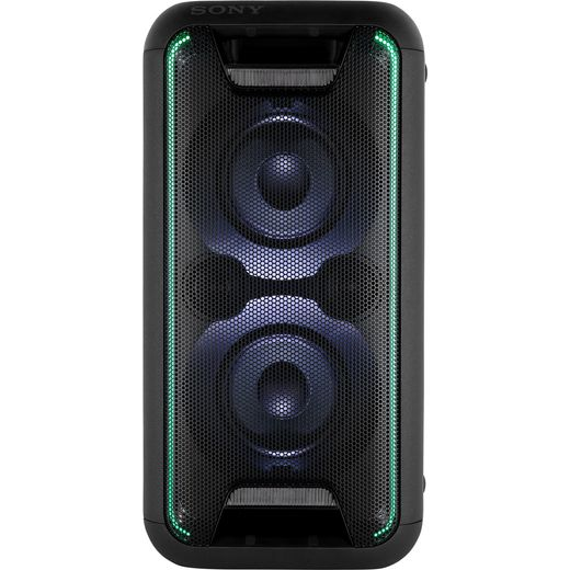 Sony 200 Watt Bluetooth Compact High Power Party Speaker with Lighting Effects - Black