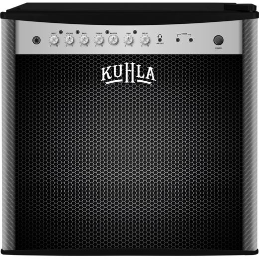 Kuhla KTTF4BGB-1004 Mini Fridge with Ice Box - Amp/Speaker Design - F Rated