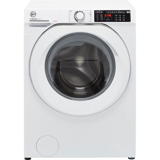 Hoover H-WASH 500 HW410AMC/1 Wifi Connected 10Kg Washing Machine with 1400 rpm - White - A Rated