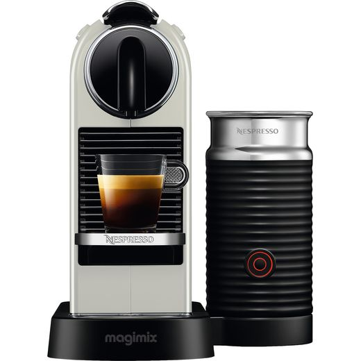 Nespresso by Magimix Citiz & Milk 11319 - White