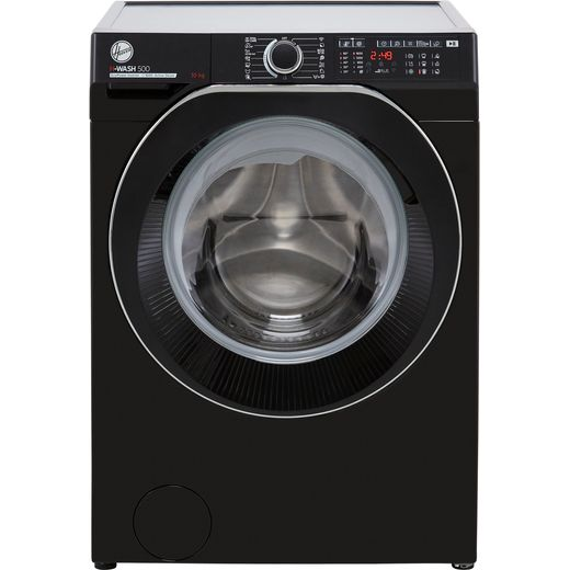 Hoover H-WASH 500 HW610AMBCB/1 Wifi Connected 10Kg Washing Machine with 1600 rpm - Black - A Rated