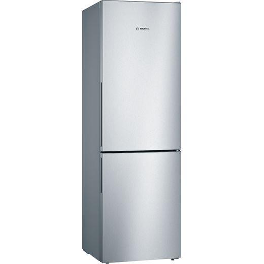 Bosch Serie 4 KGV36VLEAG Fridge Freezer - Stainless Steel Effect