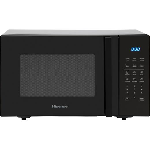 Hisense H25MOBS7HUK 25 Litre Microwave - Black