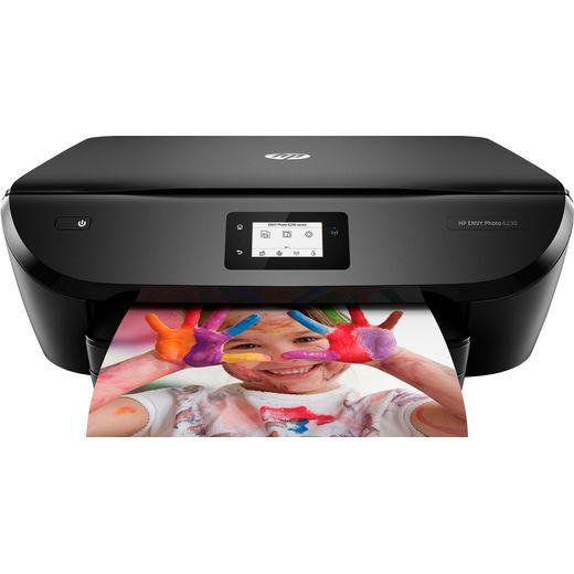 HP Envy Photo 6230 Inkjet Printer Includes 4 months of Instant Ink - Black