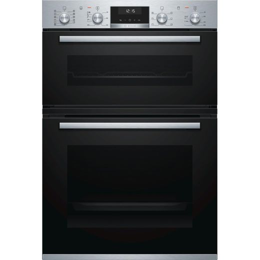 Bosch Serie 6 MBA5575S0B Built In Electric Double Oven - Stainless Steel - A/B Rated