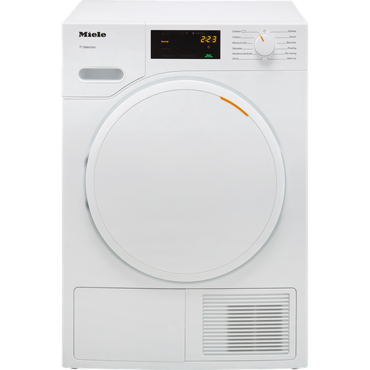 Miele T1 TSB143WP Heat Pump Tumble Dryer - White