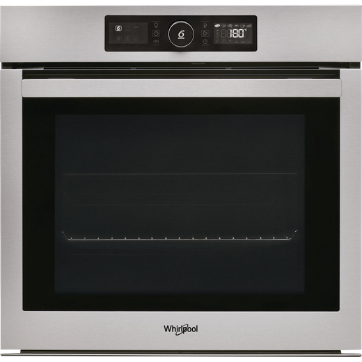 Whirlpool Absolute AKZ96230IX Built In Electric Single Oven - Stainless Steel - A+ Rated