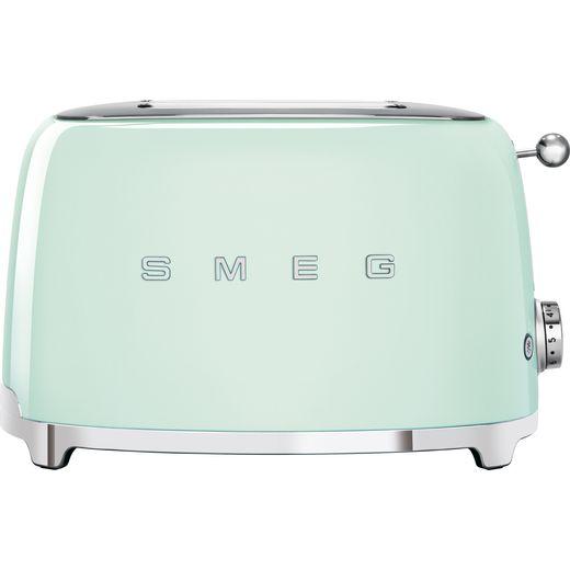 Smeg 50's Retro TSF01PGUK 2 Slice Toaster - Pastel Green