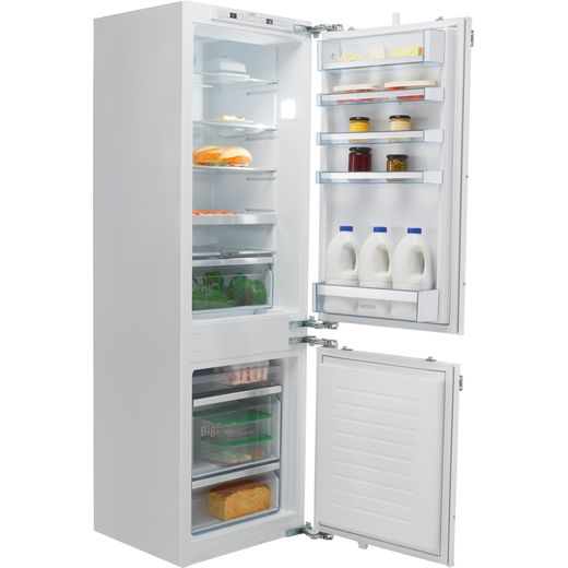 Bosch Serie 6 KIS86AFE0G Integrated 60/40 Fridge Freezer with Fixed Door Fixing Kit - White - E Rated
