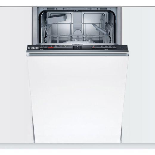Bosch Serie 2 SRV2HKX39G Fully Integrated Slimline Dishwasher - Black Control Panel - E Rated