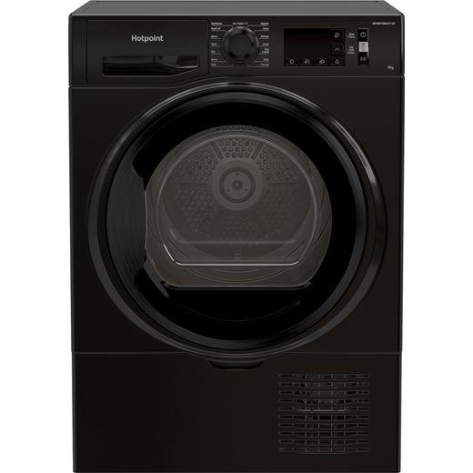 Hotpoint H3D91BUK 9Kg Condenser Tumble Dryer - Black - B Rated