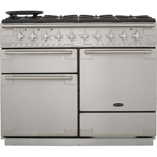 Rangemaster Elise ELS110DFFSS 110cm Dual Fuel Range Cooker - Stainless Steel - A/A Rated