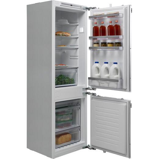 NEFF N50 KI7862SF0G Integrated 60/40 Fridge Freezer with Sliding Door Fixing Kit - White - F Rated
