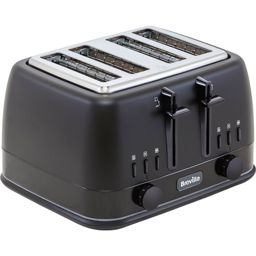 Breville New York Collection VTT943 4 Slice Toaster - Matte Black