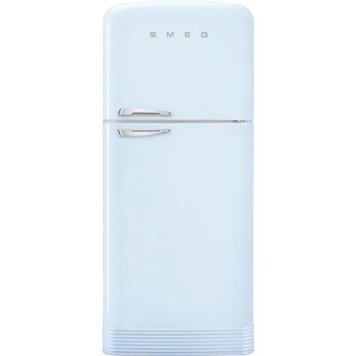 Smeg Right Hand Hinge FAB50RPB5 80/20 Frost Free Fridge Freezer - Pastel Blue - E Rated
