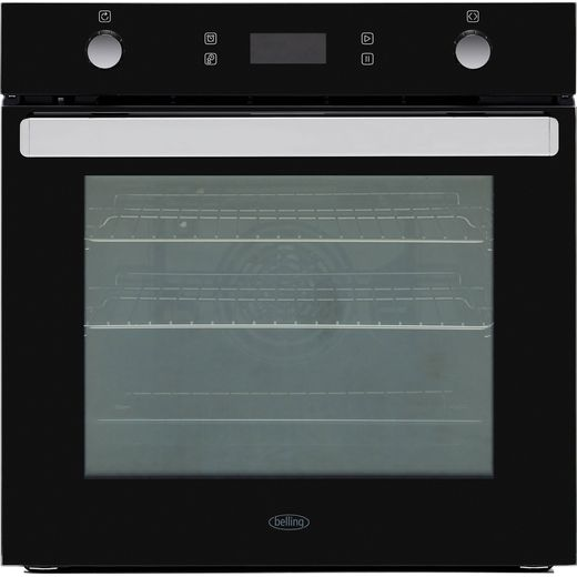 Belling BI602MFPY Built In Electric Single Oven - Black - A Rated