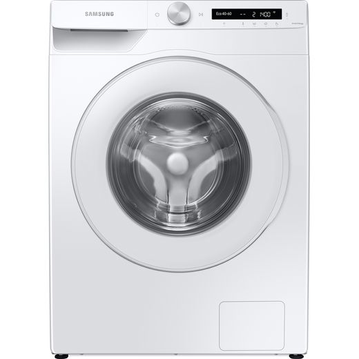 Samsung Series 5+ AutoDose™ WW80T534DTW Wifi Connected 8Kg Washing Machine with 1400 rpm - White - B Rated