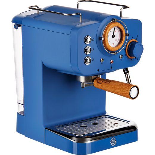Swan Nordic SK22110BLUN Espresso Coffee Machine - Blue
