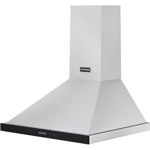 Stoves ST 600 CHIM 60 cm Chimney Cooker Hood - Stainless Steel - A Rated