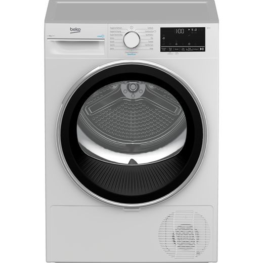 Beko B3T4823DW 8Kg Heat Pump Tumble Dryer - White - A++ Rated