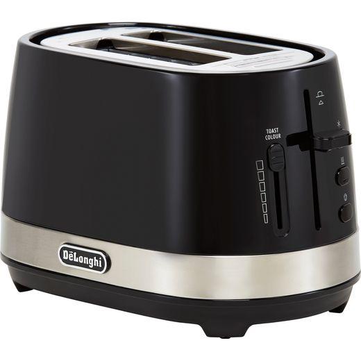 De'Longhi Active Line CTLA2003.BK 2 Slice Toaster - Black