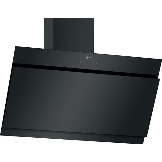 NEFF N50 D95IHM1S2B 90 cm Angled Chimney Cooker Hood - Black - B Rated