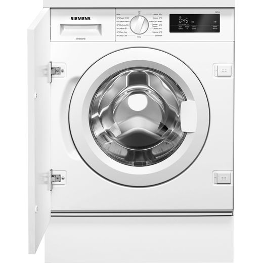 Siemens IQ-500 WI14W301GB Integrated 8Kg Washing Machine with 1400 rpm - White - C Rated