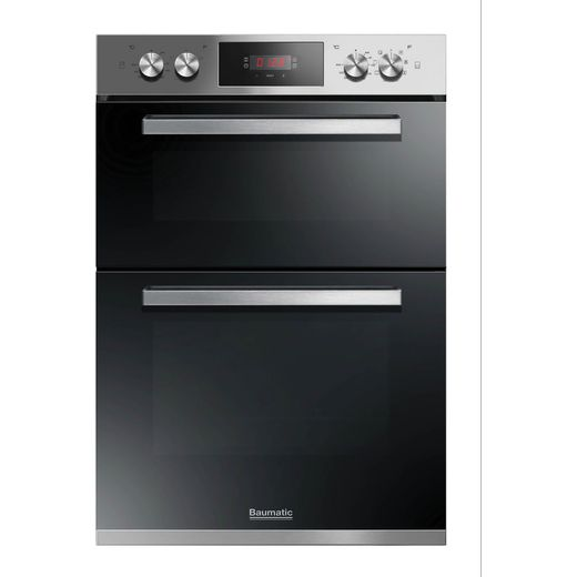 Baumatic BODM984X Built In Electric Double Oven - Stainless Steel