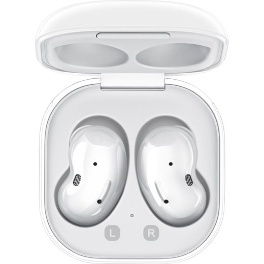 Samsung Galaxy Buds Live In-Ear Water Resistant Wireless Bluetooth Headphones - White