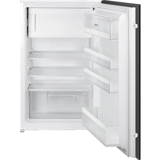 Smeg UKS4C092F Integrated Upright Fridge with Ice Box - Sliding Door Fixing Kit - White - F Rated