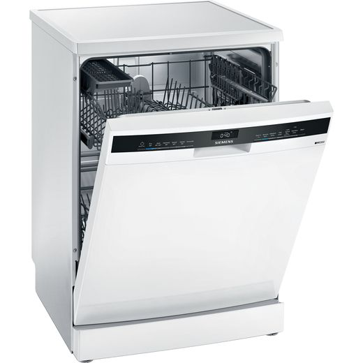 Siemens IQ-300 SN23HW60AG Wifi Connected Standard Dishwasher - White - D Rated