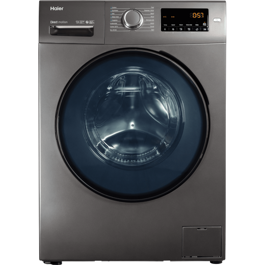 Haier HW80-B1439NS8 8Kg Washing Machine with 1400 rpm - Graphite - A Rated